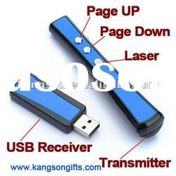 Wireless USB PowerPoint Presenter with Laser Pointer