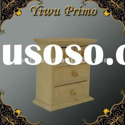 Wooden Storage Chest with Drawers