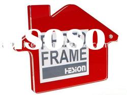 acrylic megnet photo frame with stand