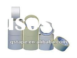adhesive masking tape with an easily released pressure sensitive adhesive