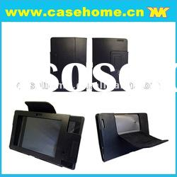 back stand PU leather case for Asus padfone mobile phone and tabletfor ipad3