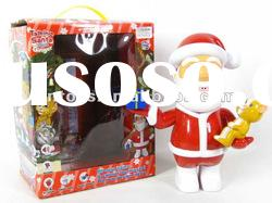 battery operated talking Santa Claus toy,with record function,with EN71,ASTM,HR4040,6P
