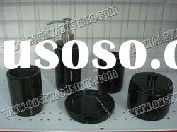 black marble soap dish for bathroom
