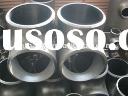 carbon steel pipe BW pipe fitting tee/ansi b16.9