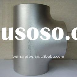 carbon steel pipe fittings/straight pipe tee