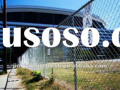 chain link fence/ diamond wire fence(ISO9001/2000)