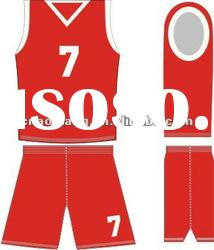 design High Quality basketball uniform basketball kit