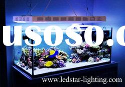 digital timer(best performing+5years warranty) 120w led aquarium light for coral reef fish tank