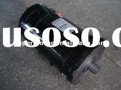electric dc motor with electric brake