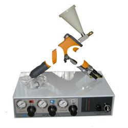 electrostatic powder coating test machine