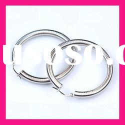 fashion jewelry 2012 big hoop earrings wholesale for women