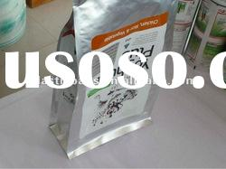 flexible aluminium foil packaging bags, stand up pouch