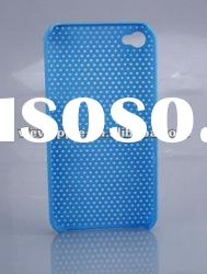 for Apple iPhone 4 4G 4S Hard Mesh Grid Skin Case Cover