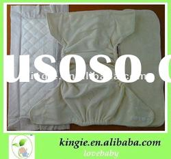 free sample bamboo cloth nappy and diaper, washable,baby cloth diaper with 2 insert