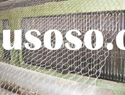 galvanized wire mesh fishing mesh;chicken wire