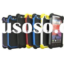 hard plastic protector 3 in 1 combo case for Motorola DROID RAZR XT910