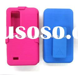 hard protector 2 in 1 combo case with clip for BlackBerry Bold 9700