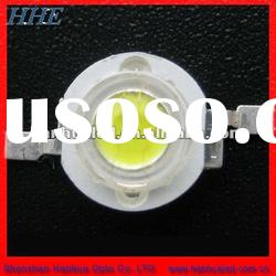 high intensity 45mil 3w pure white 6000K high power led 120LM for street lamp