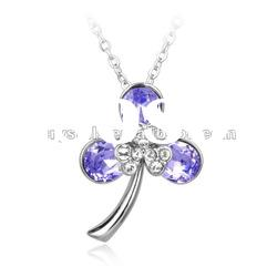 high quality swarovski element pendant Crystal Necklace, Jewelry with high quality