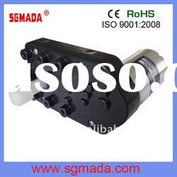 high torque low rpm plastic gear motor
