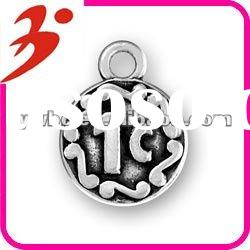 hot sale alloy antisilver one cent charms(185476)