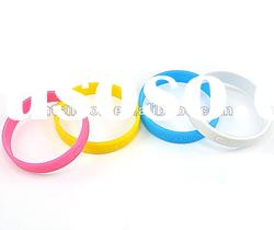 hot sale !!!silicone wristband