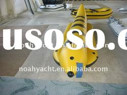 inflatable PVC banana boat/inflatable PVC water game