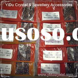 jewelry accessories 888 BLACK DIAMOND SS8 PP17 crystal