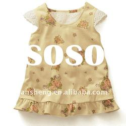 lovely flower baby girl dresses,baby clothes