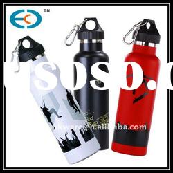 new design 600ml wide mouth stainless steel travel bottle