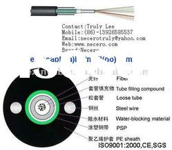 optical fiber cable price single model burial/duct optical fiber cable GYXTW Hangzhou china