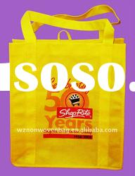 pp non woven bag with handle to bottom for shopping