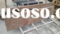 promotion price polishing Chinese red marble window sills