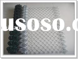 pvc coated chain link fence 60mm,galvanized wire fence