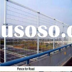 pvc-coated double circle wire mesh fence ( manufacturer)