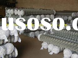 pvc coated wire mesh;chain link fence