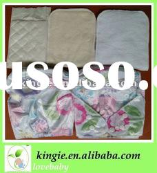 soft printed bamboo cloth diaper with bamboo cloth diaper insert. organic cloth diaper