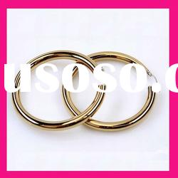stainless steel gold plated cheap golden hoop earring designs for women