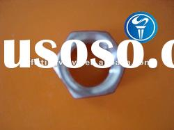 stainless steel pipe fittings hex nuts with BSP thread