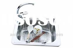 stainless steel single bowl kitchen sink(Model NO:5445A)