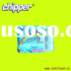 sugarless xylitol chewing gum