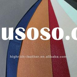 synthetic pu angola flocking leather for sofa, shoes and bags
