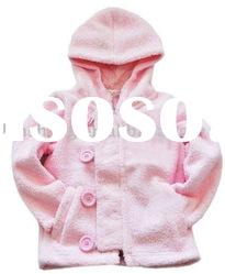 winter soft hand 100%cotton fashion baby coat,baby garment