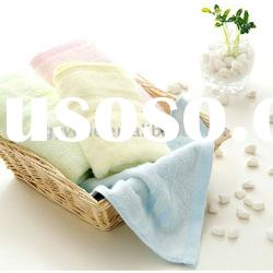 100% cotton plain dyed face towel