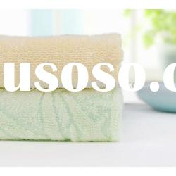100% cotton plain dyed jacquard towel