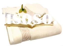 100% cotton terry hotel towel sets