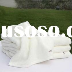 100% cotton terry white hotel towel