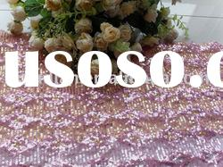 100%polyester mesh embroidery spangle fabric