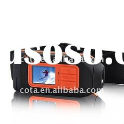 1080P HD Waterproof Sport Video Camera/Car DVR With Screen CT-S803