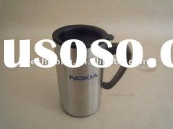 2011 new design stainless steel Coffee cups BPA free FDA approved